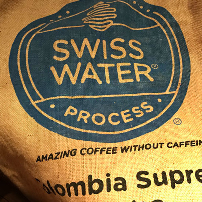 Colombien Supremo - Swiss water process  5 lbs