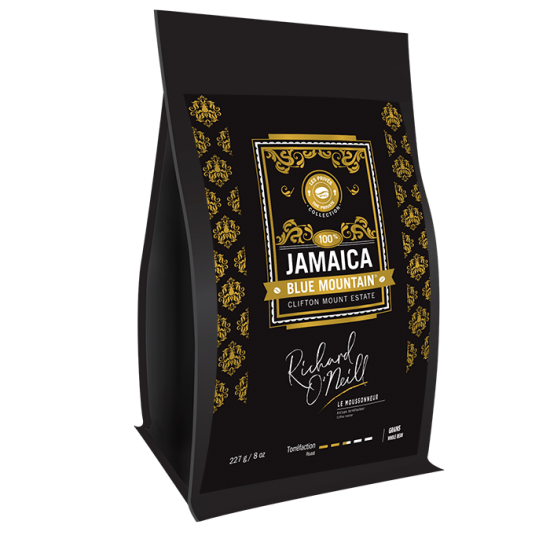 JAMAICA BLUE MOUNTAIN 100% - CLIFTON MOUNT ESTATE 227g (1/2 lb)